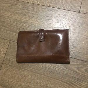 Vintage Travel Wallet